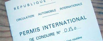 Modification de la procédure de demande de permis de conduire international