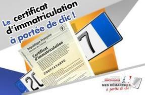 Dématérialisation dans le traitement des dossiers d immatriculation et des  permis de conduire 306212b2a164